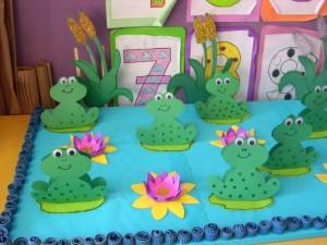 frog craft idea for kids (5)