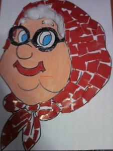 grandma craft with template (2)