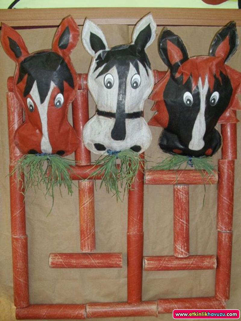 Horse Craft Idea For Kids Crafts And Worksheets For