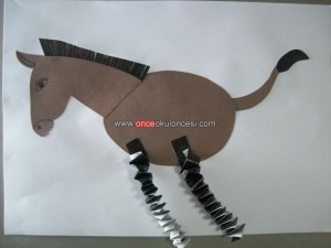 horse craft idea for kids (2)