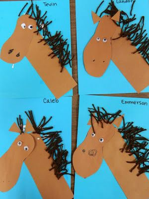 horse craft idea for kids (9)