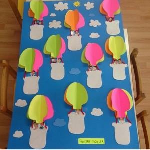 hot air balloon bulletin board (2)