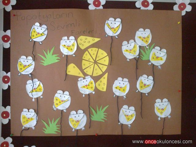 mouse bulletin board ida for kids