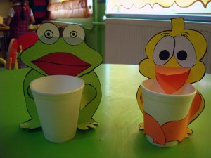 paper cup craft idea for kids
