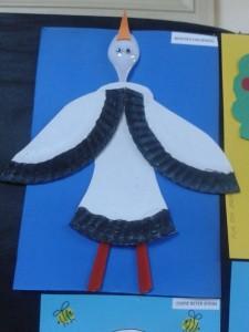 paper plate stork craft_450x600