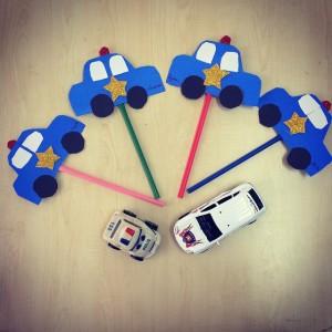 police car craft (1)