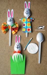 spoon bunny craft