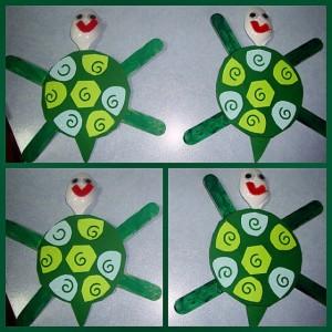 spoon turtle craft