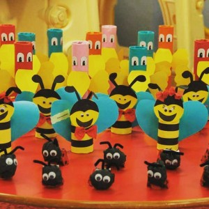 toilet paper roll bee craft (2)