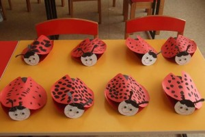 toilet paper roll ladybug craft (1)