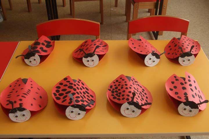 toilet paper roll ladybug craft (1)