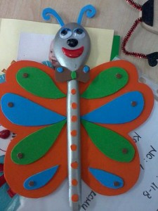 wooden spoon butterfly crafts