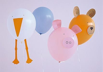 zoo animal balloon craft