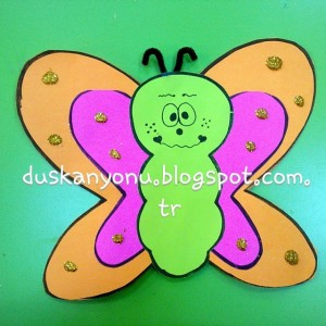 butterfly craft idea for kids (5)