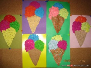 ice cream craft ideas for preschoolers ice craft idea for crafts and worksheets for 7794
