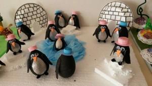 light bulb penguin craft