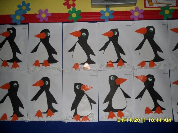 penguin craft idea for kids