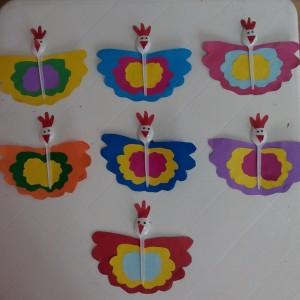 plastic spoon butterfly (2)