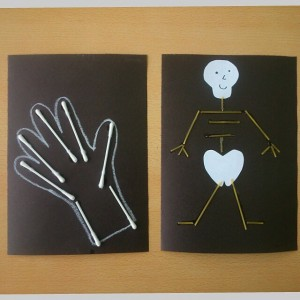 skeleton craft idea for kids (1)