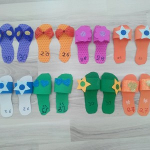 slippers craft idea for kids (17)