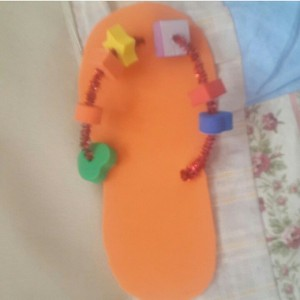 slippers craft idea for kids (18)