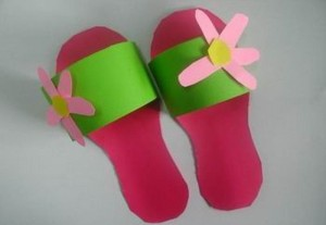 slippers craft idea for kids (6)