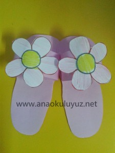 slippers craft idea for kids (8)