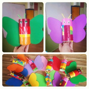 toilet paper roll butterfly craft (1)