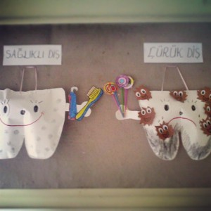 tooth craft idea for kids (1)