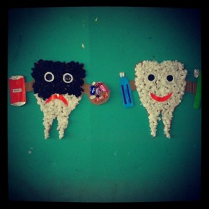 tooth craft idea for kids (6)