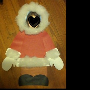 Eskimo craft for preschool Arctic unit