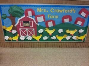 Farm bulletin boards