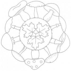 autumn mandala coloring page (3)