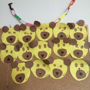 bear mask craft