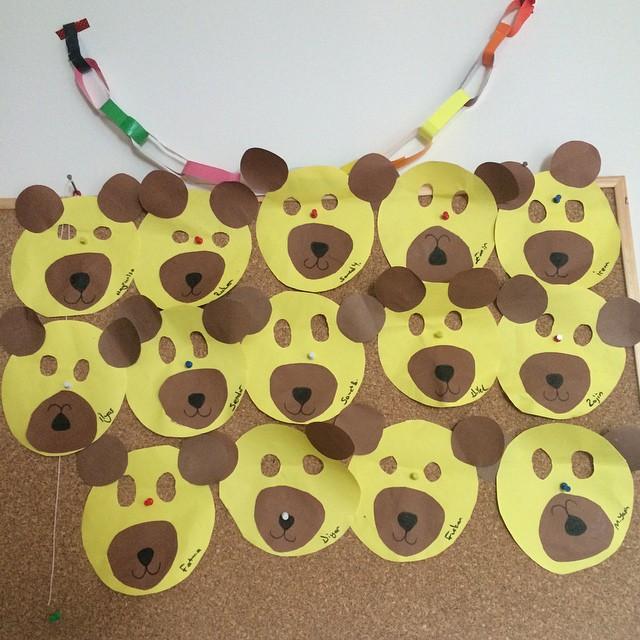 bear mask craft