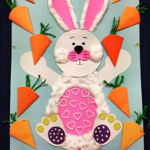 bunny bulletin board