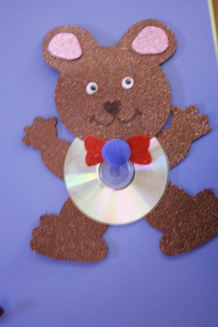 cd bear craft idea (2)