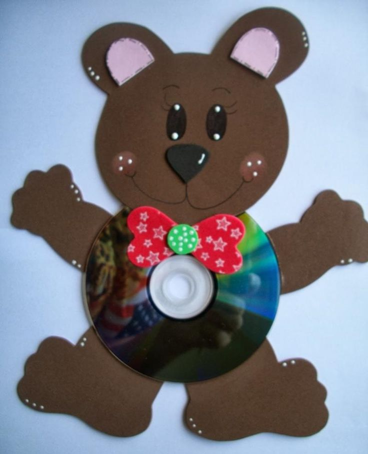 cd bear craft idea (3)