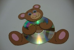 cd bear craft idea (4)