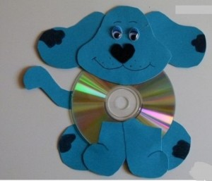 cd dog craft (2)