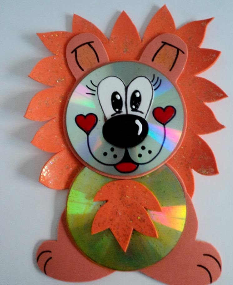 cd hedgehog craft