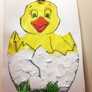 chick craft idea for kids (4)