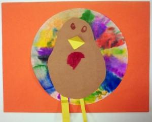 coffe filter turkeys craft