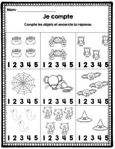 count worksheet