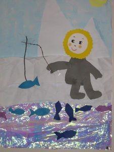 eskimo craft idea