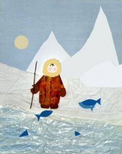 eskimo craft idea for kids