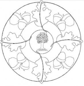fall mandala colorin page (6)