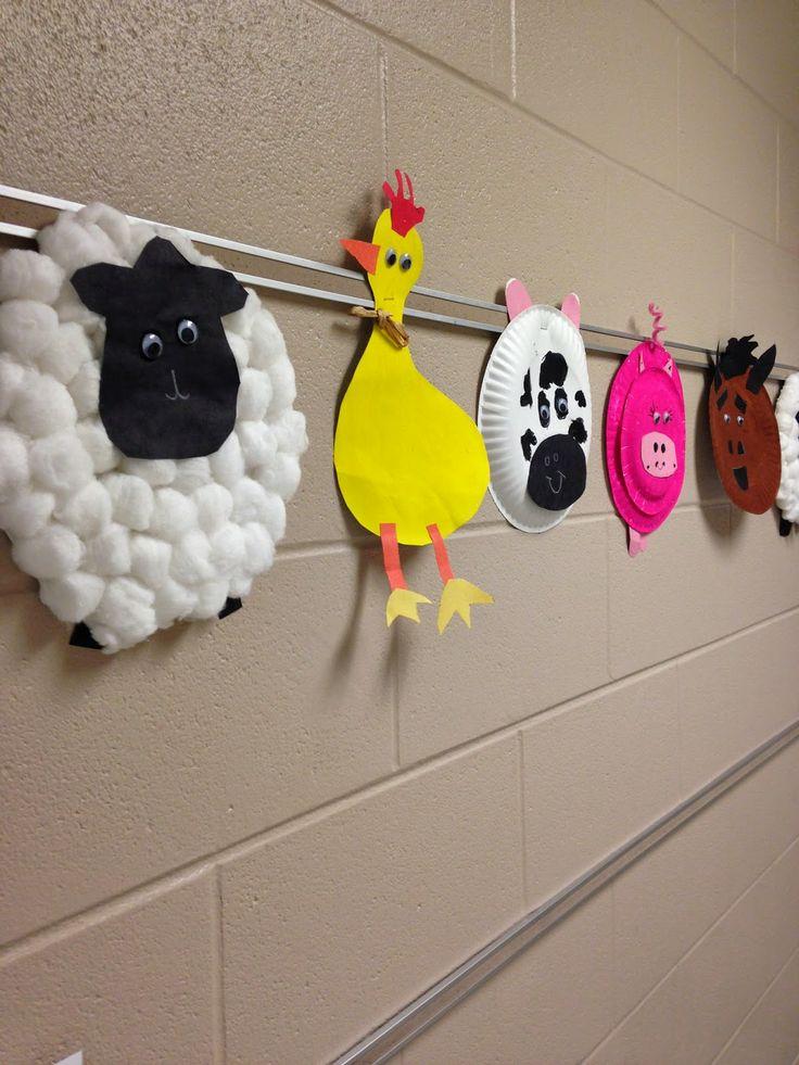 farm animals craft