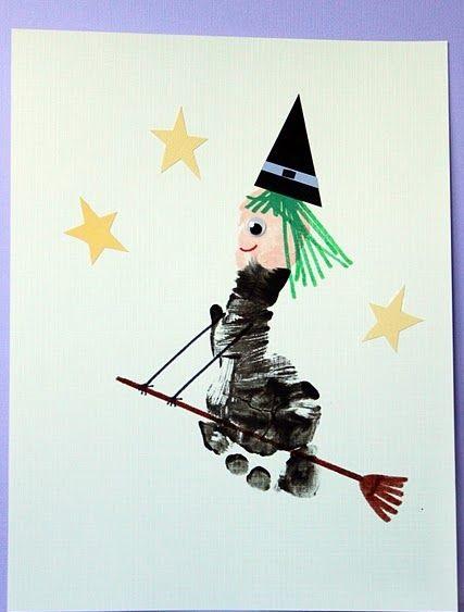 footprint witch craft