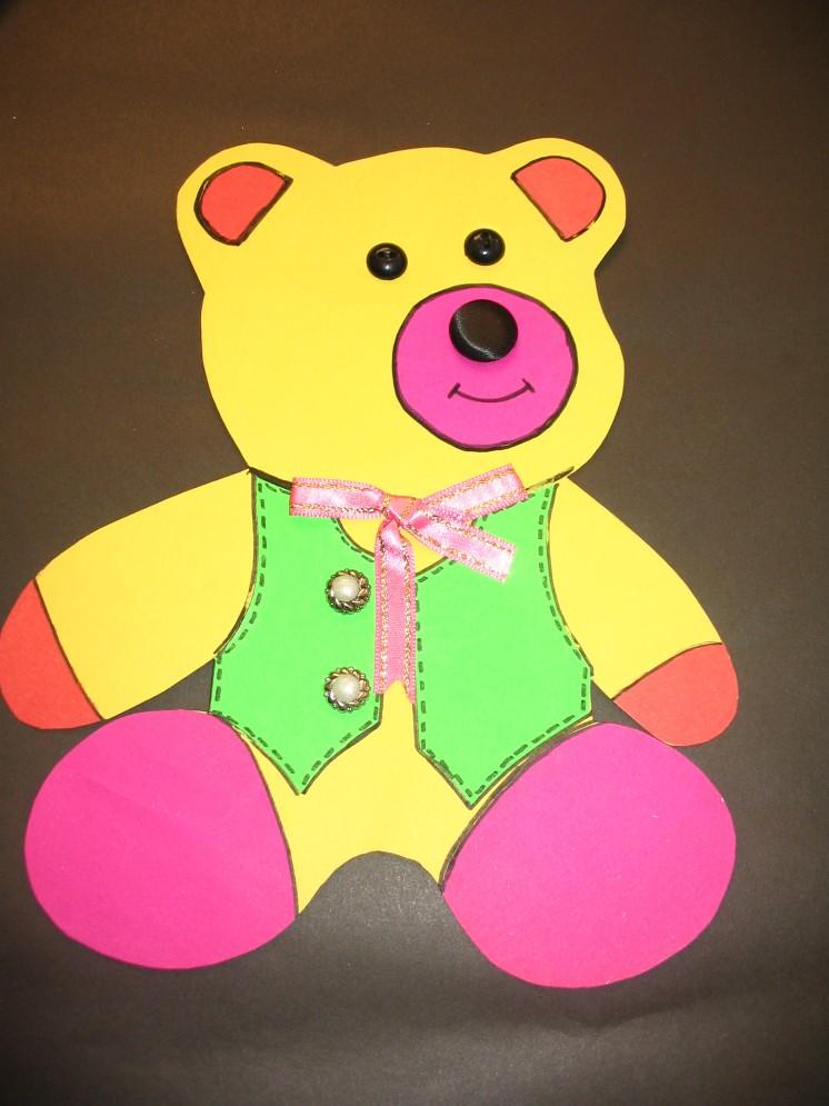 free bear craft idea for kids (2)